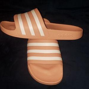 Brand new Adidas sliders size 5